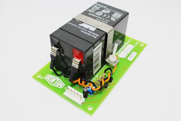 BATERIA DE CPU CON PLACA 4V - 4,5AH/20HR