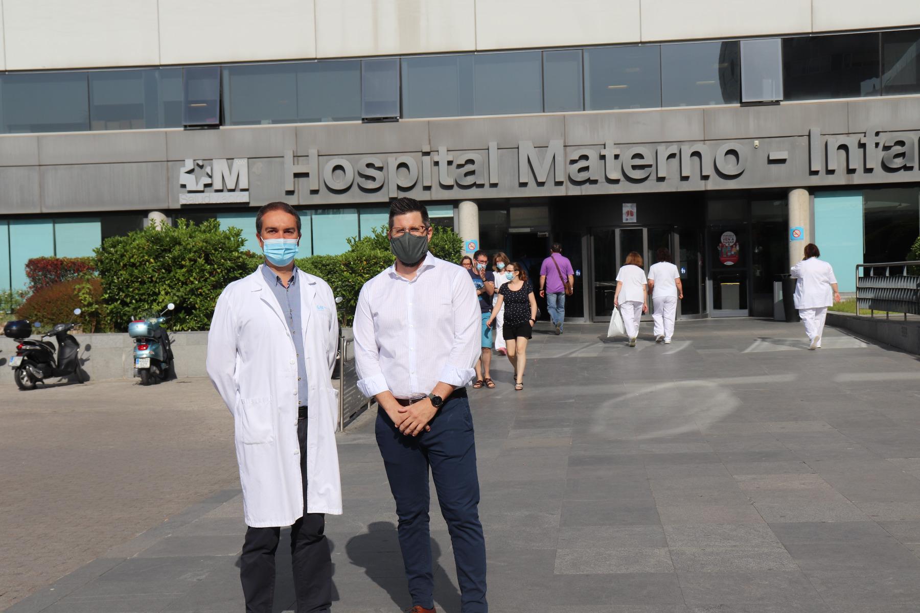 BOAYA dona maquinaria al hospital de La Paz para la lucha contra la COVID-19