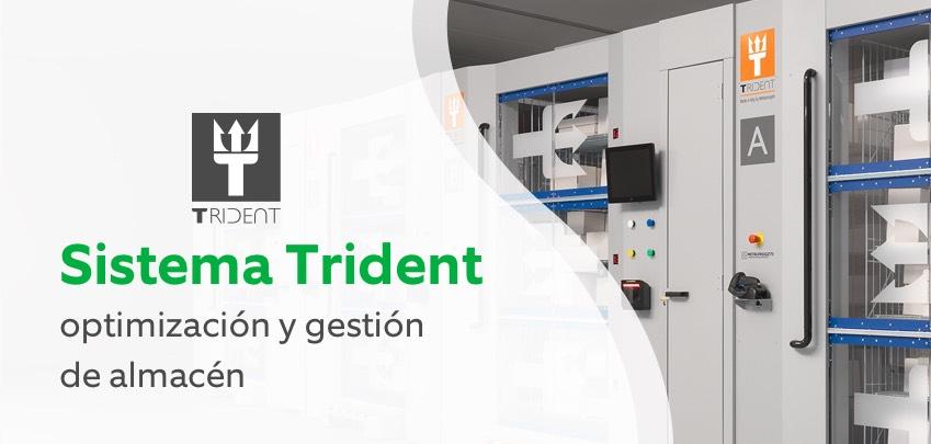 Sistema Trident. Optimización y gestión de almacén.