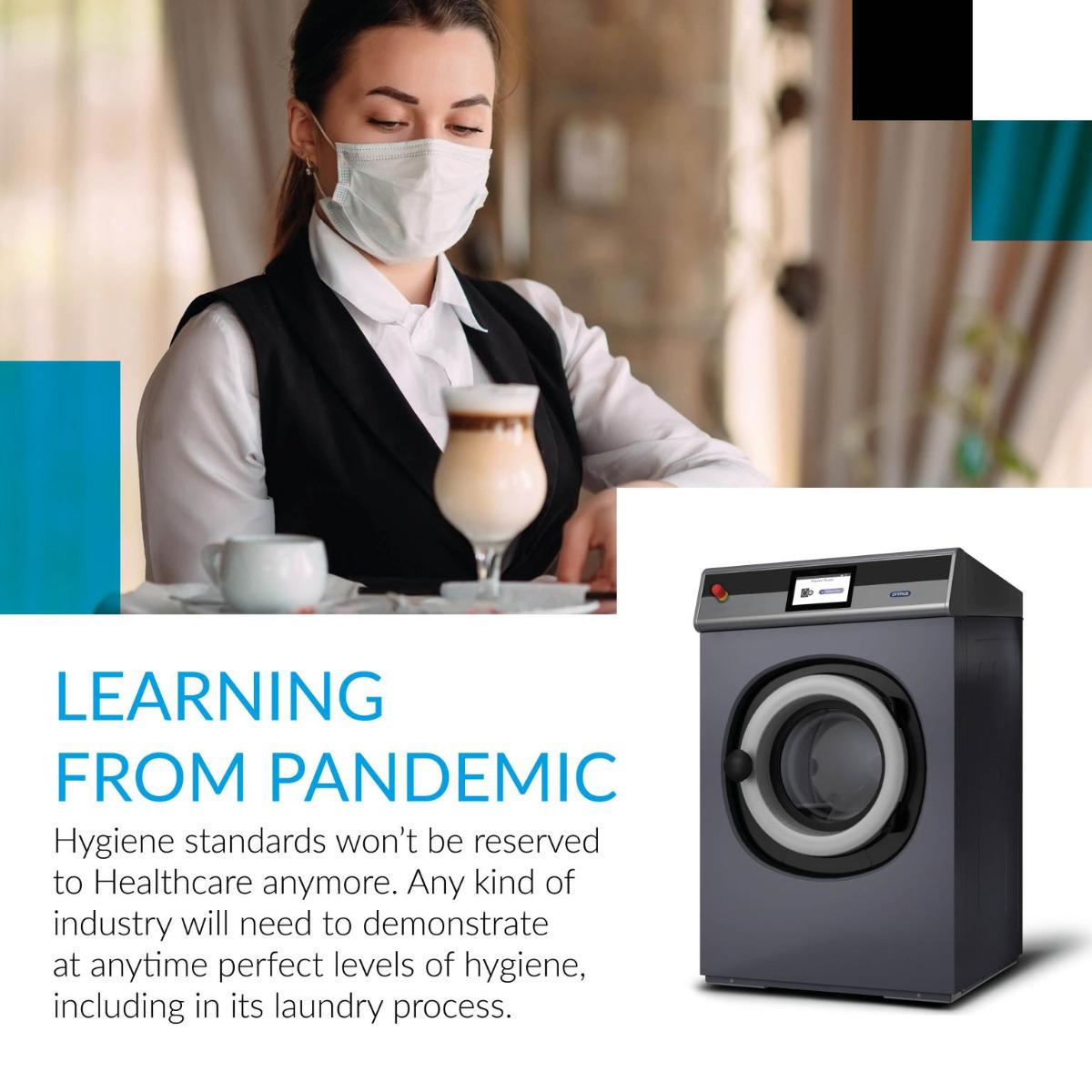 Qué hemos aprendido sobre la lavandería industrial del futuro gracias a la pandemia
