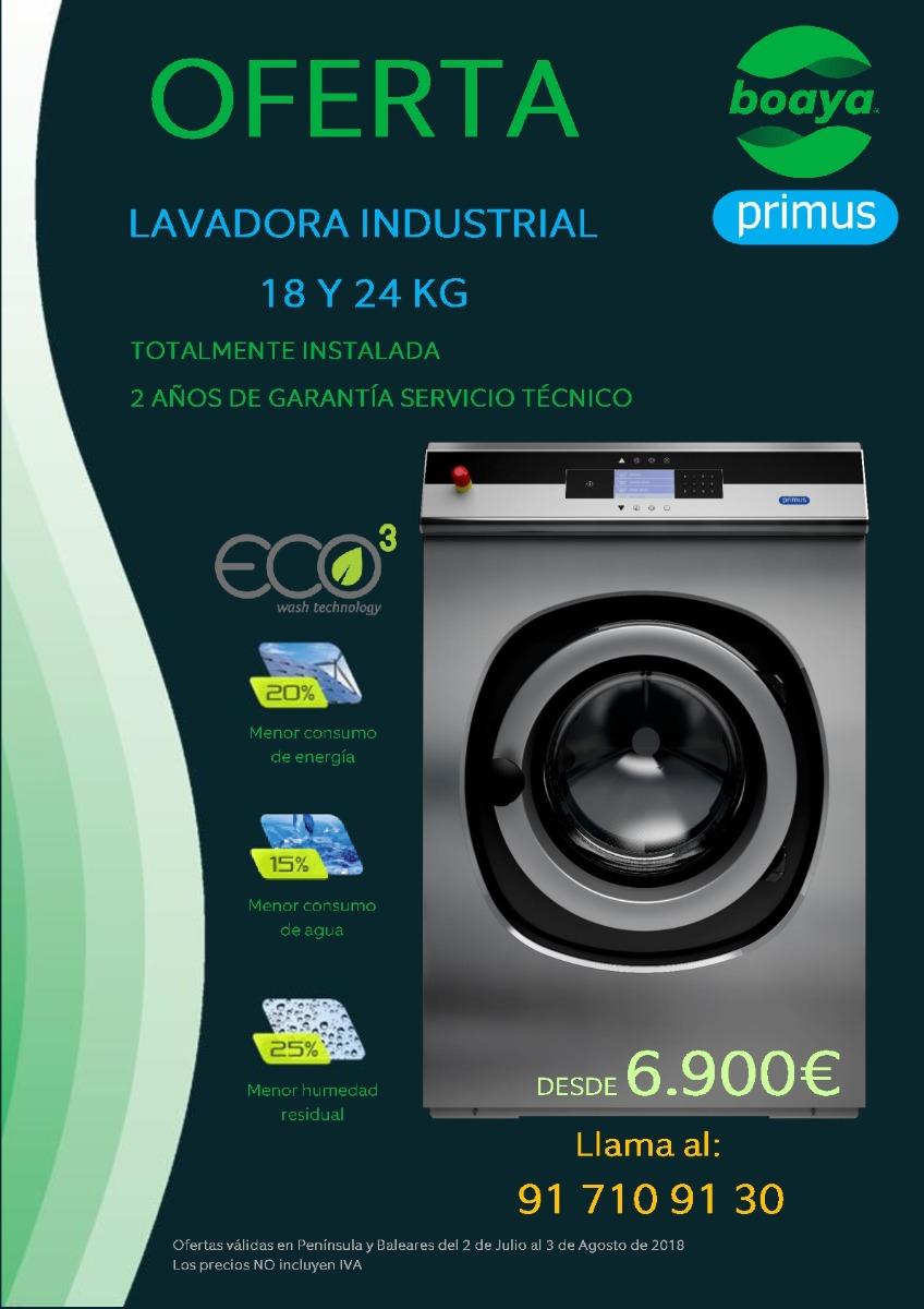 Oferta en lavadoras FX180 y FX240 hasta el día 3 de Agosto