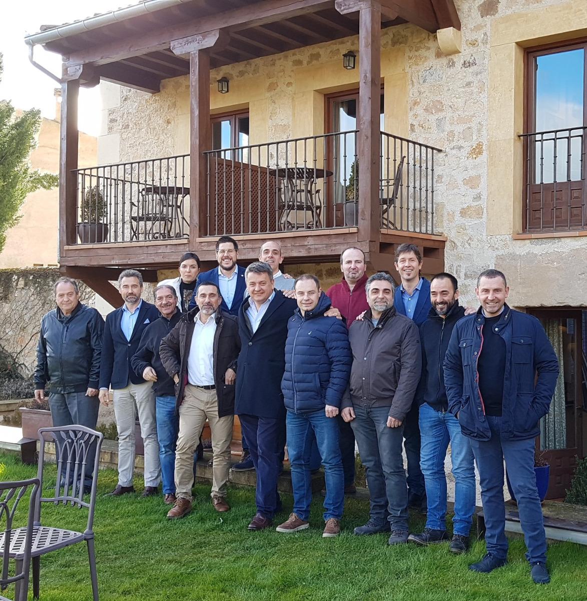 Workshop con los delegados de España