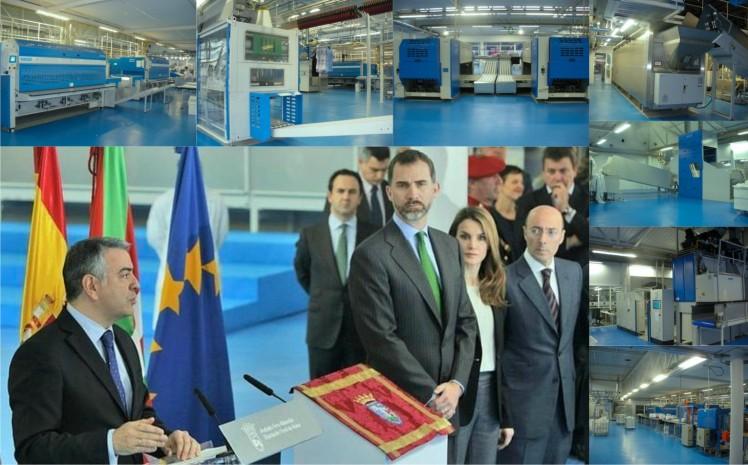 Los príncipes de Asturias inauguran